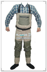 Waterproof breathable fly fishing wader -014