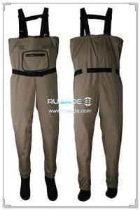 Waterproof breathable chest fishing wader -017