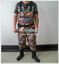 Waterproof breathable chest fishing wader -019