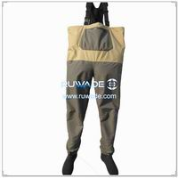 Waterproof breathable chest fishing wader -030