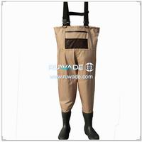 Waterproof breathable chest fishing wader -033