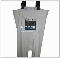 Waterproof breathable chest fly fishing wader -035