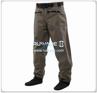 Waterproof breathable waist fishing wader -001