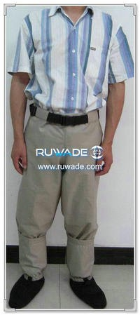 Waterproof breathable waist fishing wader -004