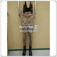 Camo hunting neoprene chest fishing wader -027