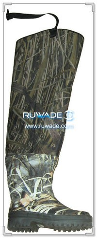 Camo neoprene hip waders -002