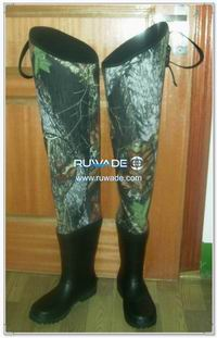 Camo neoprene hip waders -005