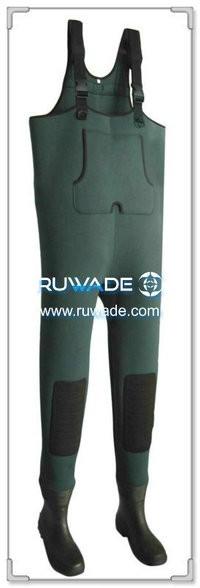 单色氯丁橡胶钓鱼裤 -022