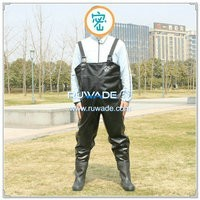 PVC chest fishing wader -002