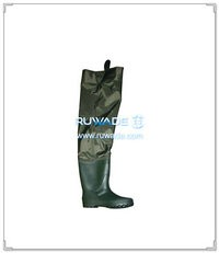 Nylon pvc hip waders -001