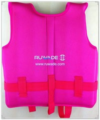 Neoprene life float vest jacket -003