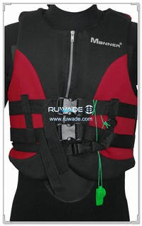 Neoprene adult life float vest jacket -029