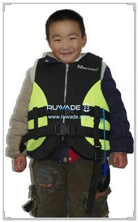 Neoprene kids life float vest jacket -030