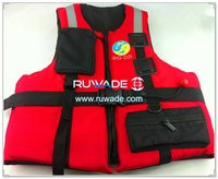 Nylon life float vest jackets -004