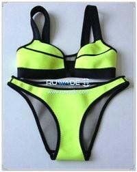 Reggiseno slip del bikini di neoprene -002