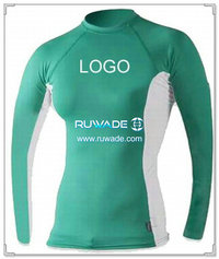 UV50+ long sleeve lycra rash guard shirt -003