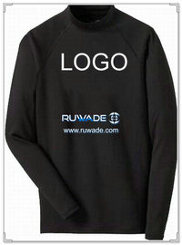 UV50+ long sleeve lycra rash guard shirt -004