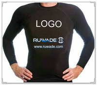 UV50+ long sleeve lycra rash guard shirt -005