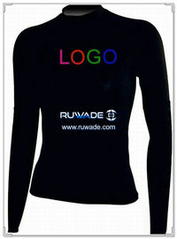 UV50+ long sleeve lycra rash guard shirt -006