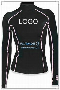UV50+ long sleeve lycra rash guard shirt -007