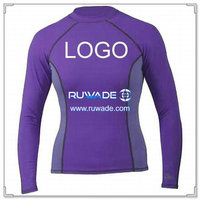 UV50+ long sleeve lycra rash guard shirt -009