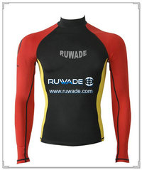 UV50+ long sleeve lycra rash guard shirt -089