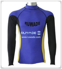 UV50+ men long sleeve lycra rash guard shirt -093