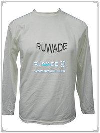 UV50   Männer Langarm Lycra rash Guard shirt -096