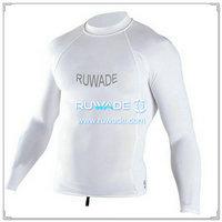 UV50   Männer Langarm Lycra rash Guard shirt -097