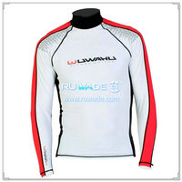 UV50+ long sleeve lycra rash guard shirt -101