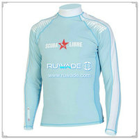 UV50+ long sleeve lycra rash guard shirt -102