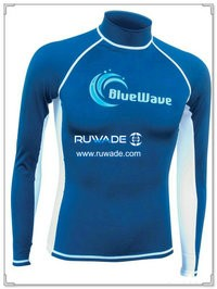 UV50+ long sleeve lycra rash guard -106