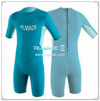UV 50+ kids one piece rash guard suit with back zipper -012