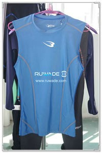 UV50+ lycra rash guard vest -004-1