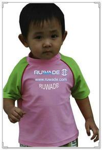 UV50   儿童短袖莱卡衣 -152