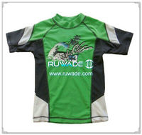 UV50+ kids short sleeve rash guard -183