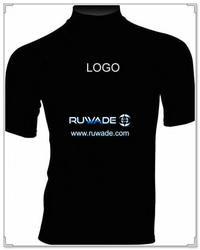 UV50+ short sleeve lycra rash guard shirt -004