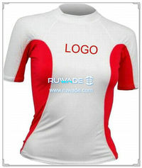 UV50+ short sleeve lycra rash guard shirt -022