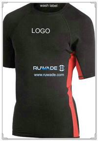 UV50   短袖莱卡衣 -025