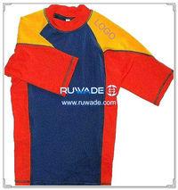 UV50   chemise rash guard lycra à manches courtes -036