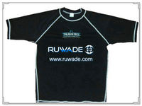 UV50+ short sleeve lycra rash guard shirt -047