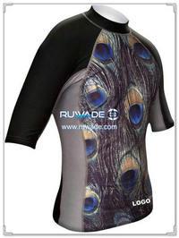 UV50   рубашка с коротким рукавом lycra опрометчивый -074