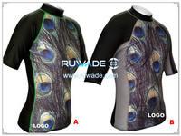 UV50+ short sleeve lycra rash guard shirt -084