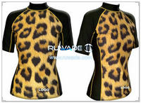 UV50+ short sleeve lycra rash guard shirt -085