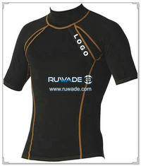 UV50+ short sleeve lycra rash guard shirt -086