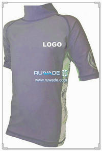 UV50+ short sleeve lycra rash guard shirt -087