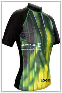UV50+ short sleeve lycra rash guard shirt -088