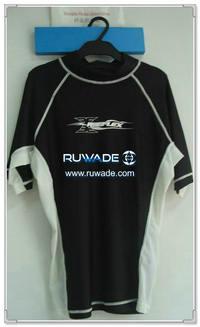 UV50+ short sleeve lycra rash guard shirt -089