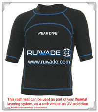 UV50+ short sleeve lycra rash guard shirt -093