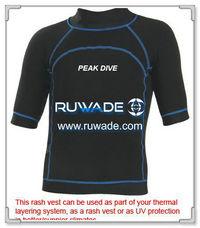 UV50   半袖ライクラ発疹ガード シャツ -093